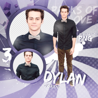 PNG Pack (10) Dylan O'Brien by Shawolza
