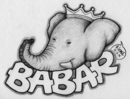 Babar The Elephant by Insanemoe