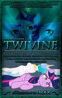MLP FiM: Twivine - Movie Poster by DashieMLPFiM