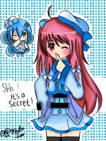 CR: AT: YukariGojo: Runa: Shh! It's a Secret! by Miitee