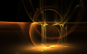 Splash of gold the wallpaper by teddybearcholla