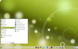 A New Look to OpenSuse 11.3 by Hyarmenadan