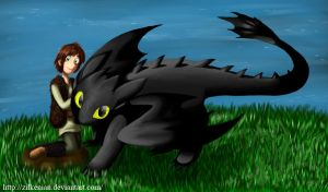 HTTYD: Best friend by Zilkenian