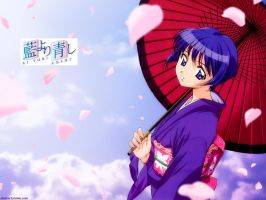 Ai Yori Aoshi Wallpaper by GothKitty368