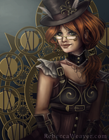 Steampunk by RebeccaWeaver