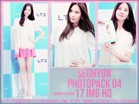 Seohyun (SNSD) - PHOTOPACK #4 By: Pablouu by LosingWar