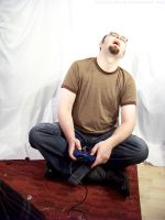 PS2 Guy Sitting : 20 by taeliac-stock