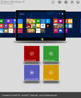 Online Windows 8 V2 Beta 1 by link6155