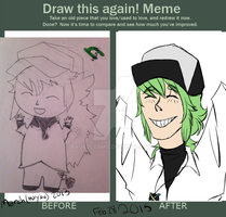 draw this again meme by angelcosmo