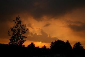 Sunset I by webworm
