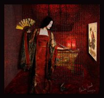 Madame Butterfly last moment by ArwenGernak