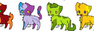 Adoptables Round 2~CHEAP 2 POINTS! [OPEN] by Oo-Sophella-oO