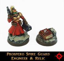 Spire Guard Engineer and Relic by Proiteus