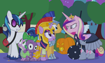 A Crystal Empire Halloween by dm29