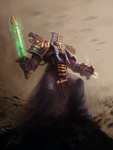 Thousand Sons Sorcerer by chimpinx