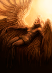 Mourning for Icarus by Resusan
