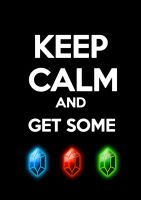 Keep calm and get some rupees by Himu-Chan