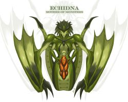 Echidna, Mother of Monsters (aka Mom) by A-Lil-RnR