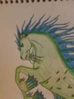 Hippocampus (close up) by Momtat31
