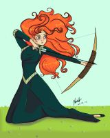 Merida! by Mandymma