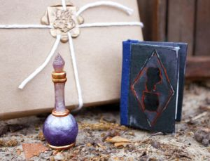 Pottermore Sleeping Draught and Potions Book by Kyasuri