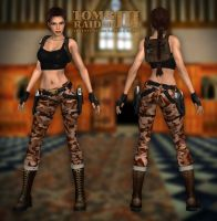 Lara Croft TR3 - Home by Larreks