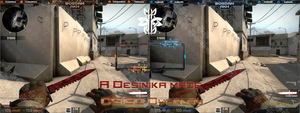Counter Strike Twitch Overlay [Showcase Only] by Desinika
