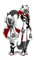 Brother and sister (colo ver.) by MlleMalice