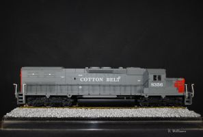 Cotton-Belt SD40T--2 by 12jack12
