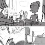 Storyboard Sketches 2 by MemorySoul