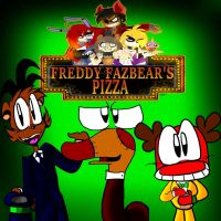 Five Friends at Freddy's Ad Video LINK BELOW by ralphbear