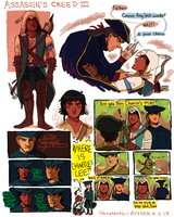 Connor and Haytham dump by okakopa