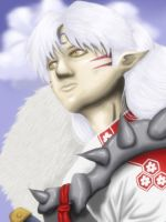 Lord Sesshomaru by happyzuko