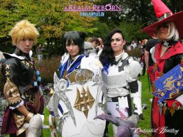 FF XIV ARR Group cosplay 1 by hwaiting