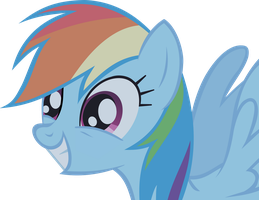 Rainbow Dash Vector S01E02 by ArroyoPl