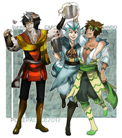 PP-SecretSanta: We three pirates. by Wasil