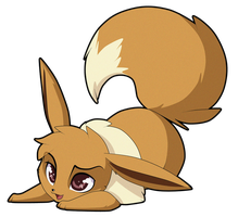 Eevee by Sugarcup91