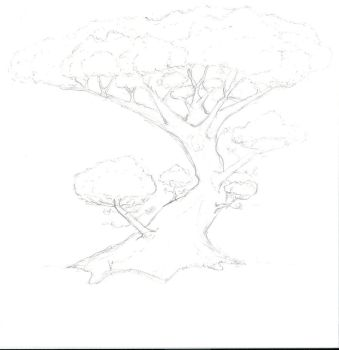Tree of Life Sketch by ldnehme