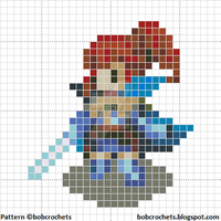 Fire Emblem Awakening ANNA Cross Stitch Pattern by bobcrochets