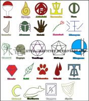 Clan Symbols by Dav3cske