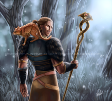 An Apostate And His Cat by ShadeofShinon