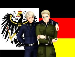 Germany and Prussia by asha1095