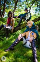 Shingeki no Kyojin: The Trio by AnyaPanda