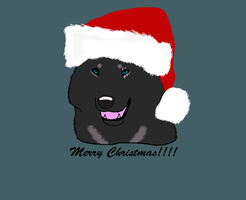 Merry Christmas free lineart  by AngelWolfsRevenge