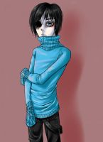 Erivin - Character Drawing by Chama