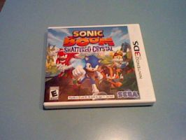 Sonic Boom Shattered Crystal game 3DS by GothNebula