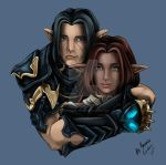 Irridias and Ironleaf by TallmanCreations