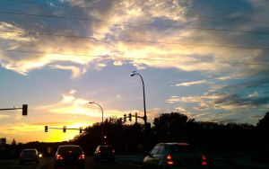 Golden Hour on the Road by MattInABox