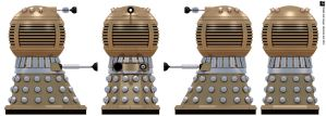 Space Dalek Emperor by Librarian-bot