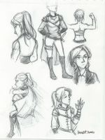 Celaena Sketch Sheet by compoundbreadd